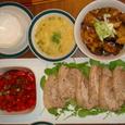 Aちゃんが来た日の夕食